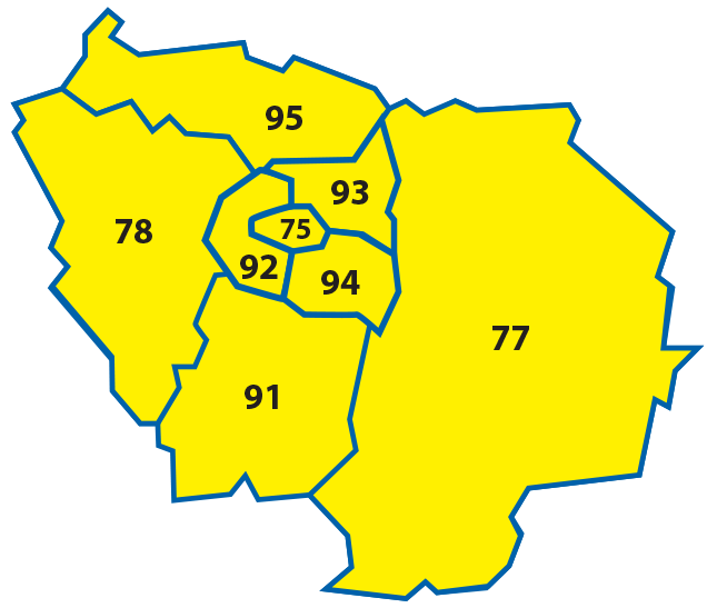 Carte zone d'intervention